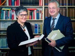 Die Rechtsanwälte Lenke und Bürger für Medinrecht