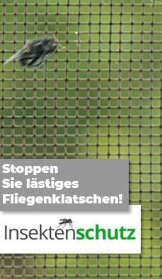 Fliegengitter für Fenster u. Türen - insektenschutz-systeme.eu