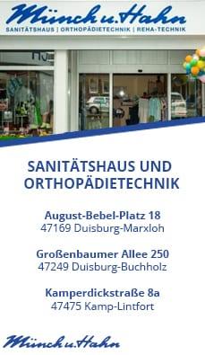 Sanitätshaus und Orthopädietechnik