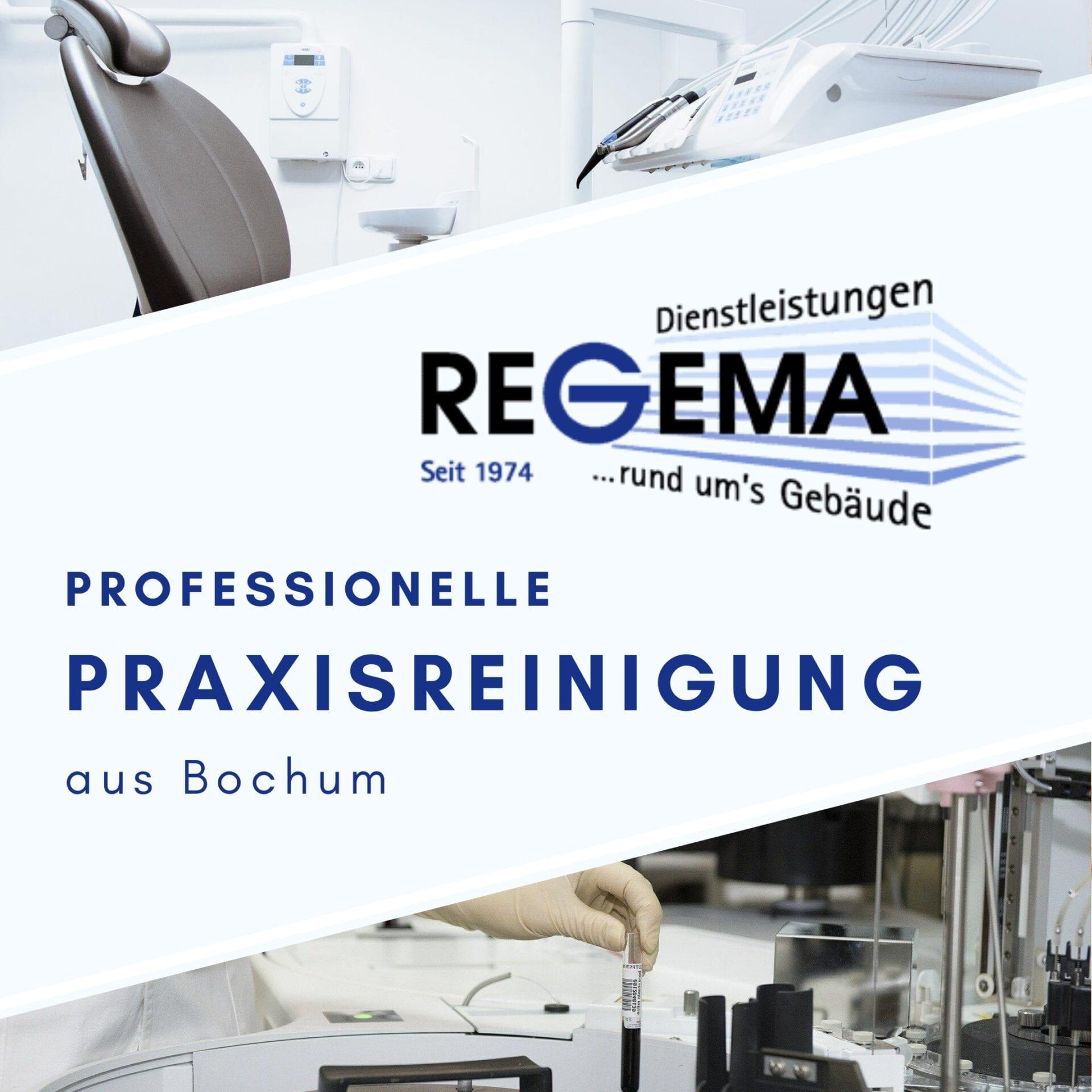 Praxisreinigung der Regema GmbH