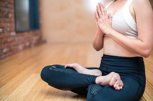 Yoga im Homeoffice